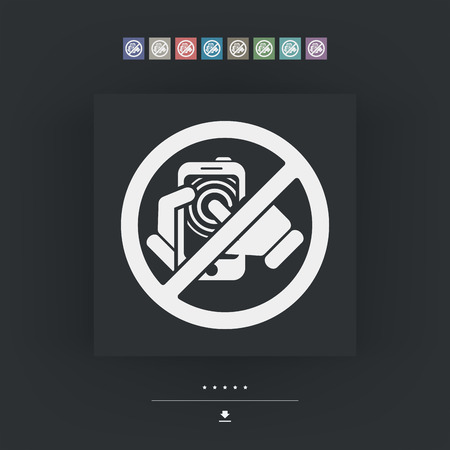 cell phones not allowed: Forbidden smartphone icon