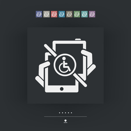 intuitive: Handicap tablet connection