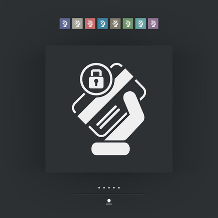 locked: Locked credit card