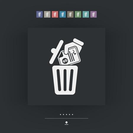 trashing: Trashing payment