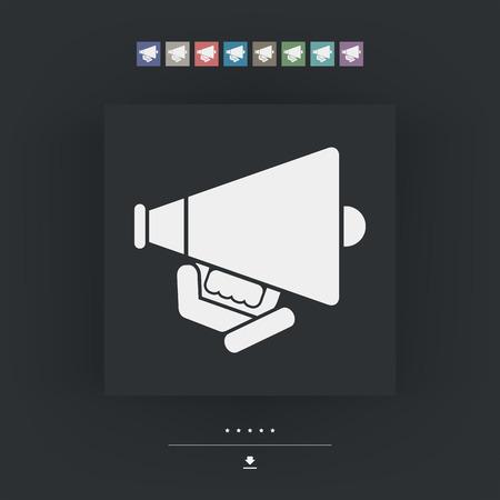diffusion: Megaphone icon