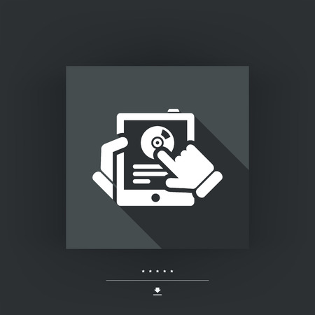 track pad: Tablet application icon