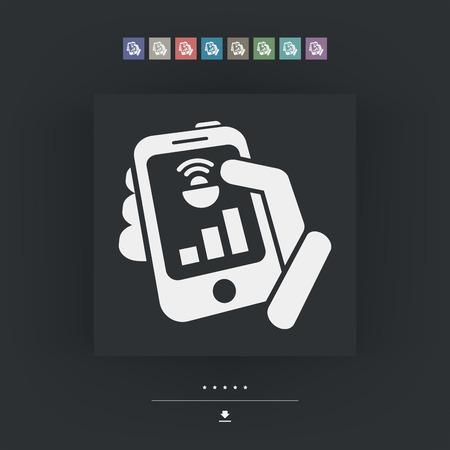 transmitting device: Device levels icon