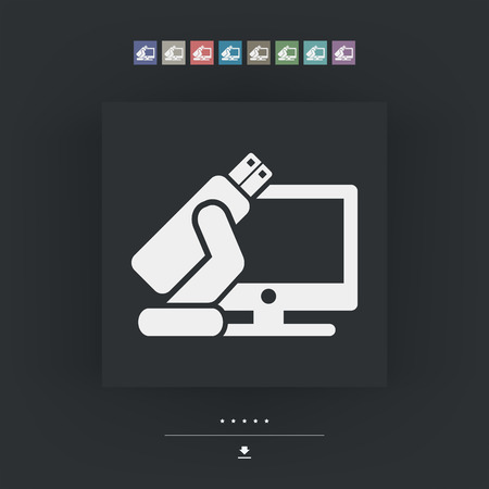 install: Tv usb icon