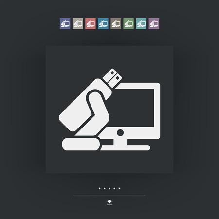 tb: Tv usb icon