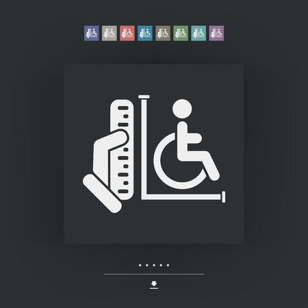 area: Disabled access area