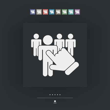 People selection icon