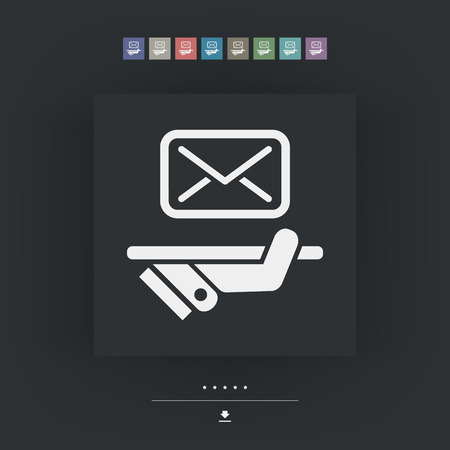 mailer: Postal agencies icon