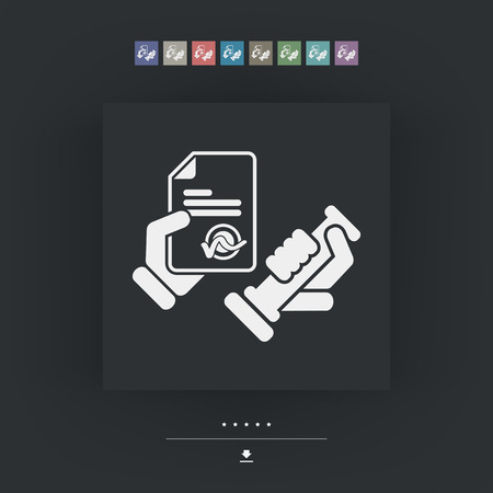 accepted: Stamp icon