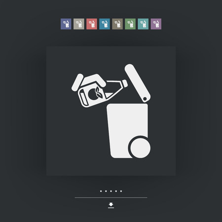 residual: Separate waste collection icon