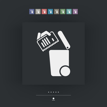 diversified: Separate waste collection icon