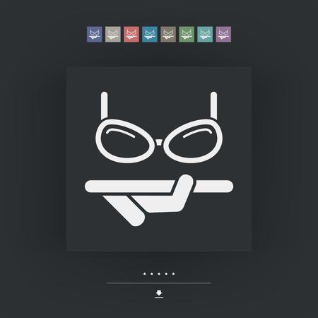 polarized: Eyeglasses shop Illustration