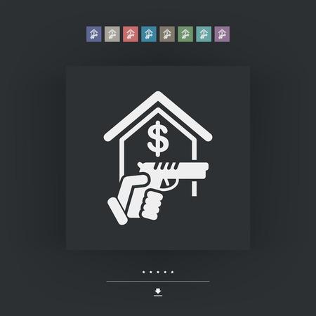 Raider icon Illustration
