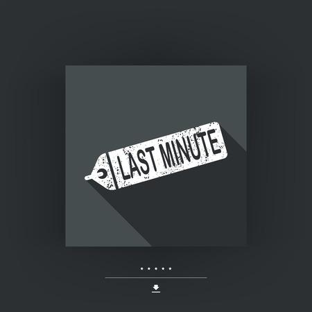 minute: Last minute label