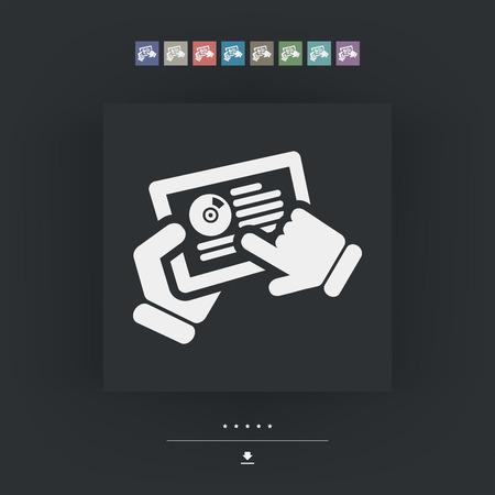 track pad: Tablet application