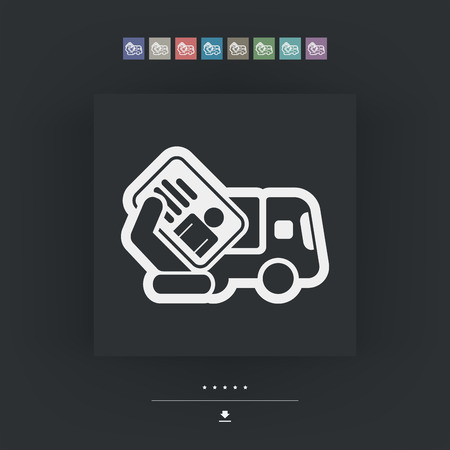camion: Truck document icon