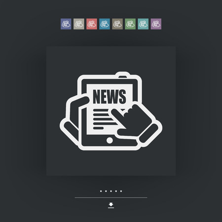 journal: Web journal icon