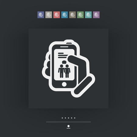 touck: Smartphone chat icon