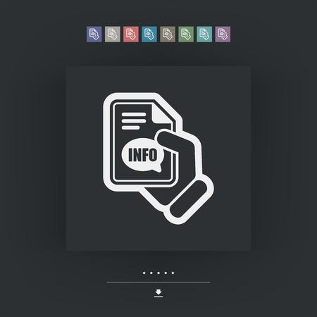 costumer: Info button icon