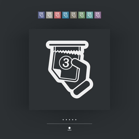 dispense: Ticket queue icon
