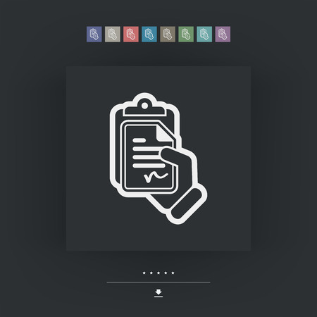 formalize: Contract icon Illustration