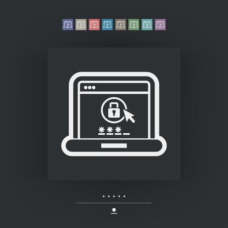 password: Computer password