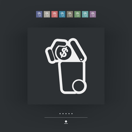 wastage: Separate waste collection icon