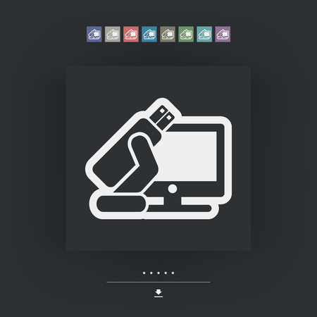 gigabyte: Tv usb icon