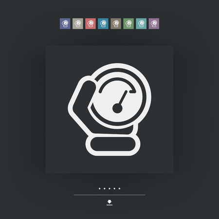 metering: Speed control icon
