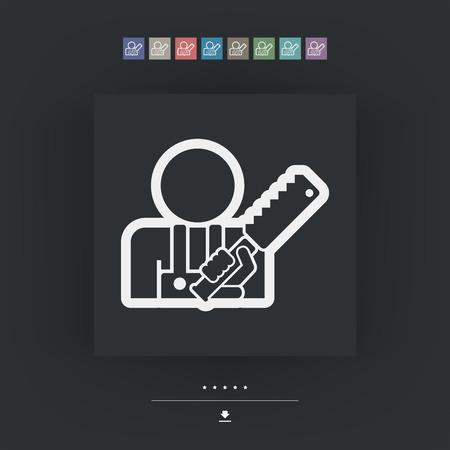 sawn: Craftsman icon