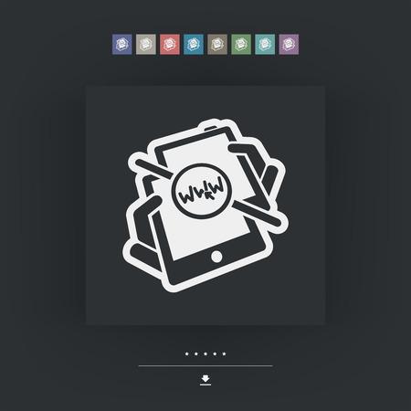 nexus: Web connection sharing Illustration