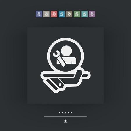 class maintenance: Best assistance icon