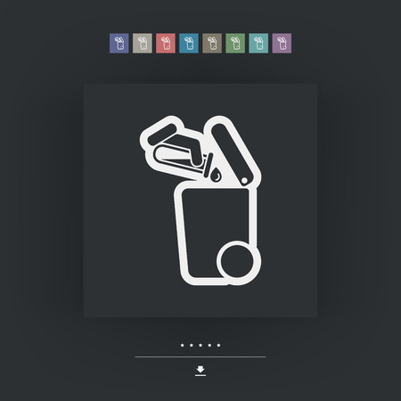 typology: Separate waste collection icon