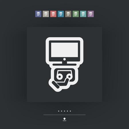 videocassette: Icono Videotape