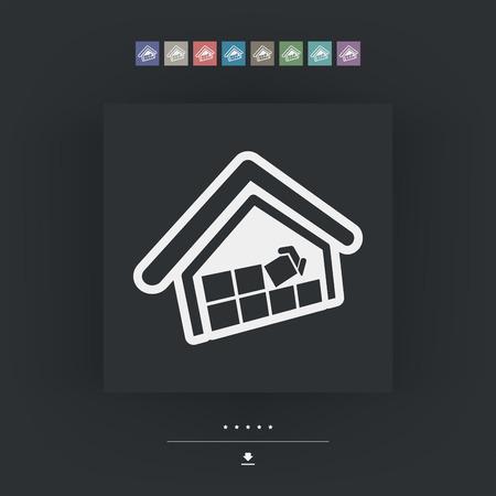 house under construction: Construction concept