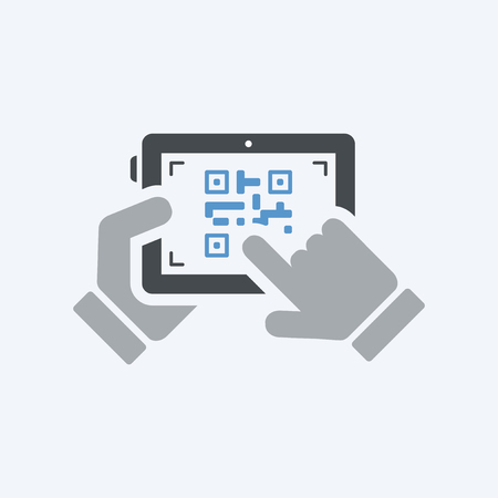qrcode: Scanning qr code with tablet