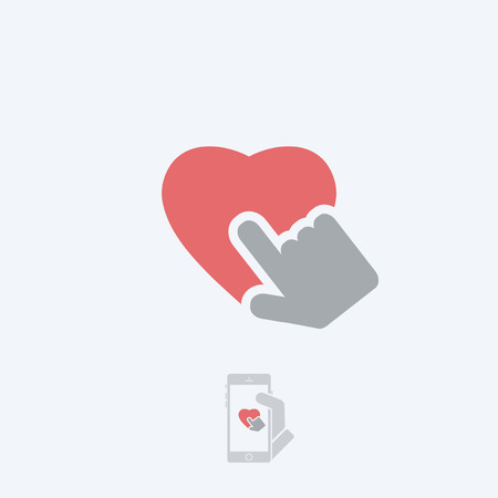 approval rate: Heart icon