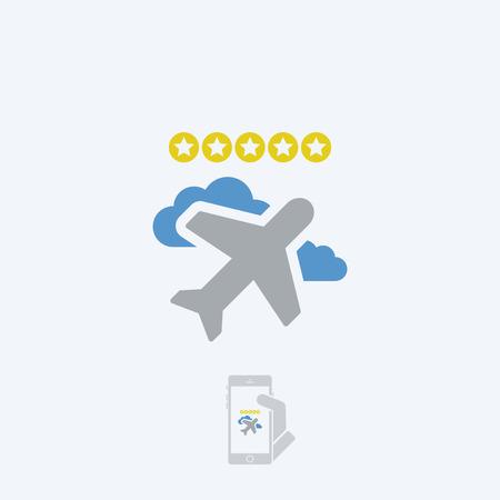 rating: Airline rating Illustration