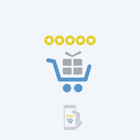 rating: Store rating Illustration