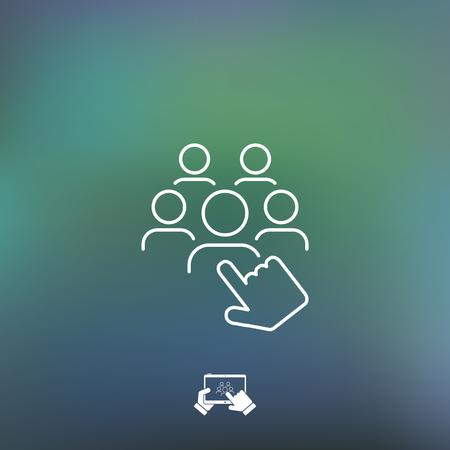 qualified: Recruitment icon
