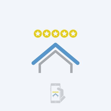rating: House rating Illustration