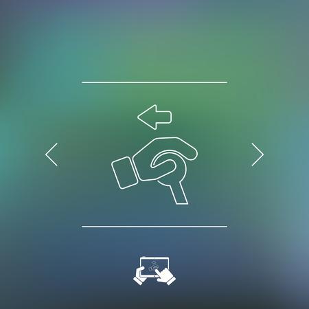 interrupt: Control handle icon
