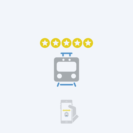 rating: Train rating icon - Thin series