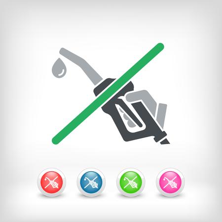 bio diesel: Fuel stop icon