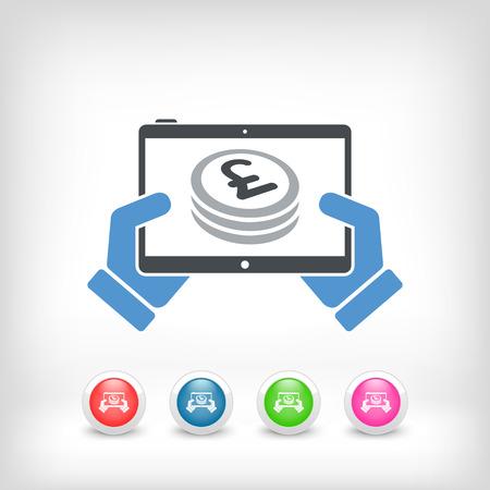 remuneraci�n: Aplicaci�n financiera en la tableta - Sterling