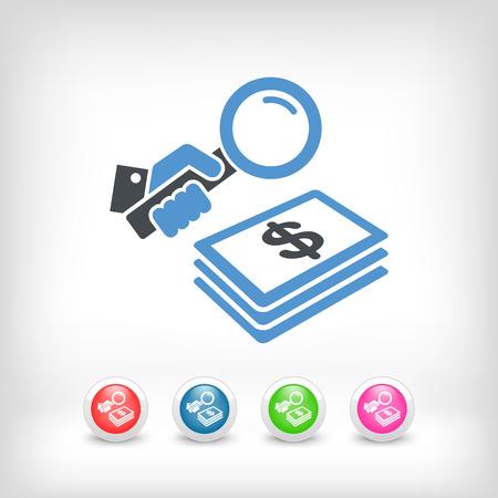 funding: Funding search - Dollars Illustration