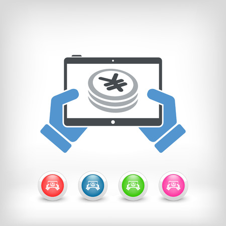 remuneraci�n: Aplicaci�n financiera en la tableta - Yen