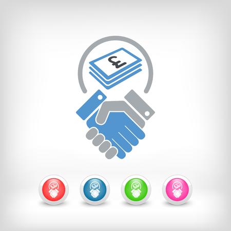 sterling: finanziarie di negoziazione - Sterling Vettoriali
