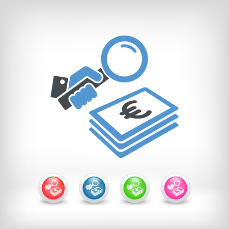 dealing: Funding search - Euro Illustration