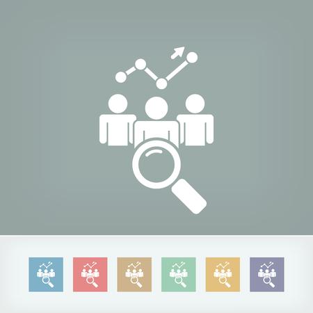 Financial icon Illustration